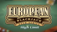 High Limit European Blackjack (Высокий лимит европейского блэкджека)